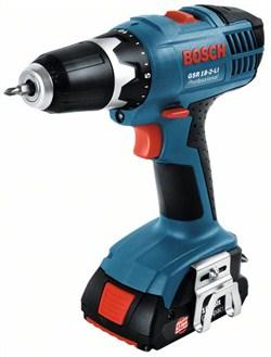 Аккумуляторная дрель-шуруповёрт Bosch GSR 18-2-LI [06019A4300]