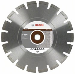 Алмазный отрезной круг Bosch Standard for Abrasive 300 x 20,00+25,40 x 2,8 x 10 mm [2608602620]