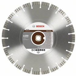Алмазный отрезной круг Bosch Best for Abrasive 300 x 20,00+25,40 x 2,8 x 15 mm [2608602685]