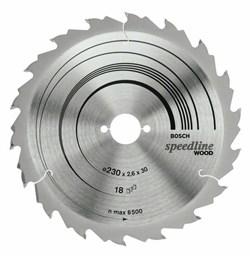 Пильный диск Bosch Speedline Wood 180 x 30 x 2,4 mm, 24 [2608640793]