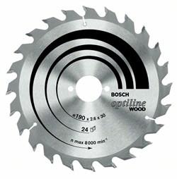 Пильный диск Bosch Optiline Wood 190 x 20/16 x 2,6 mm, 60 [2608641183]