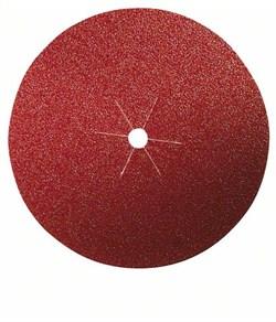 Bosch Набор из 5 шлифлистов на бумажной основе для дрелей, «красное» качество, на зажимах 40, без отверстий, на зажимах [2609256273]