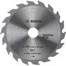 Bosch Диск для циркулярных ручных пил Optiline Eco 160-20(16) 36 2608641786